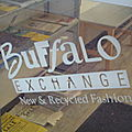 Boutique / buffalo exchange et second time around