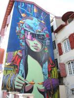 Bayonne, Festival Street Art Point de vue 2017, fresque DEIH (64)