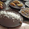Mendiants au chocolat facile !