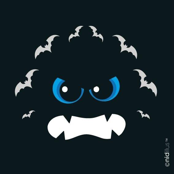 COUPON NIDILLUS monstre bleu