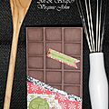 Carte en chocolat