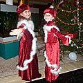 Les robes de noël de manon et alyssa