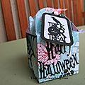 boîte à bonbons d'halloween b