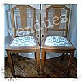 Chaises 40 -vendues