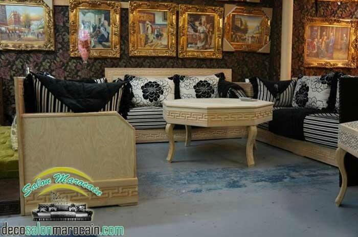 Meubles Et Decoration Pour Un Salon Marocain Traditionnel