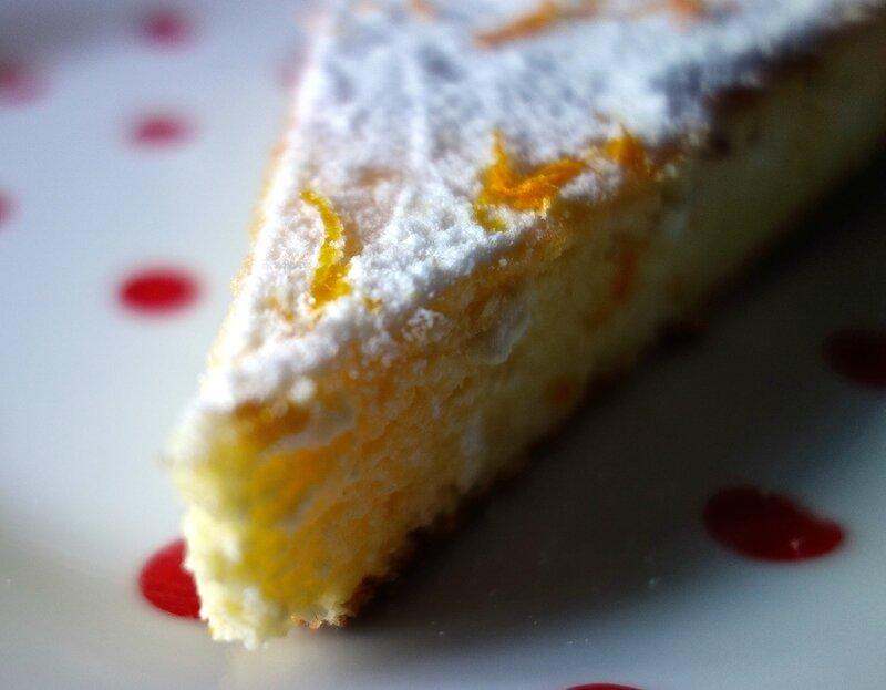 gâteau ricotta à l'orange