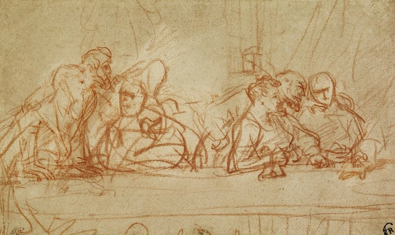 10-The-Last--Supper-after-Leonardo-da-Vinci