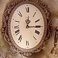 Horloge poudrée, la marquise de l.