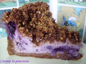 cheesecake_schtroumpf