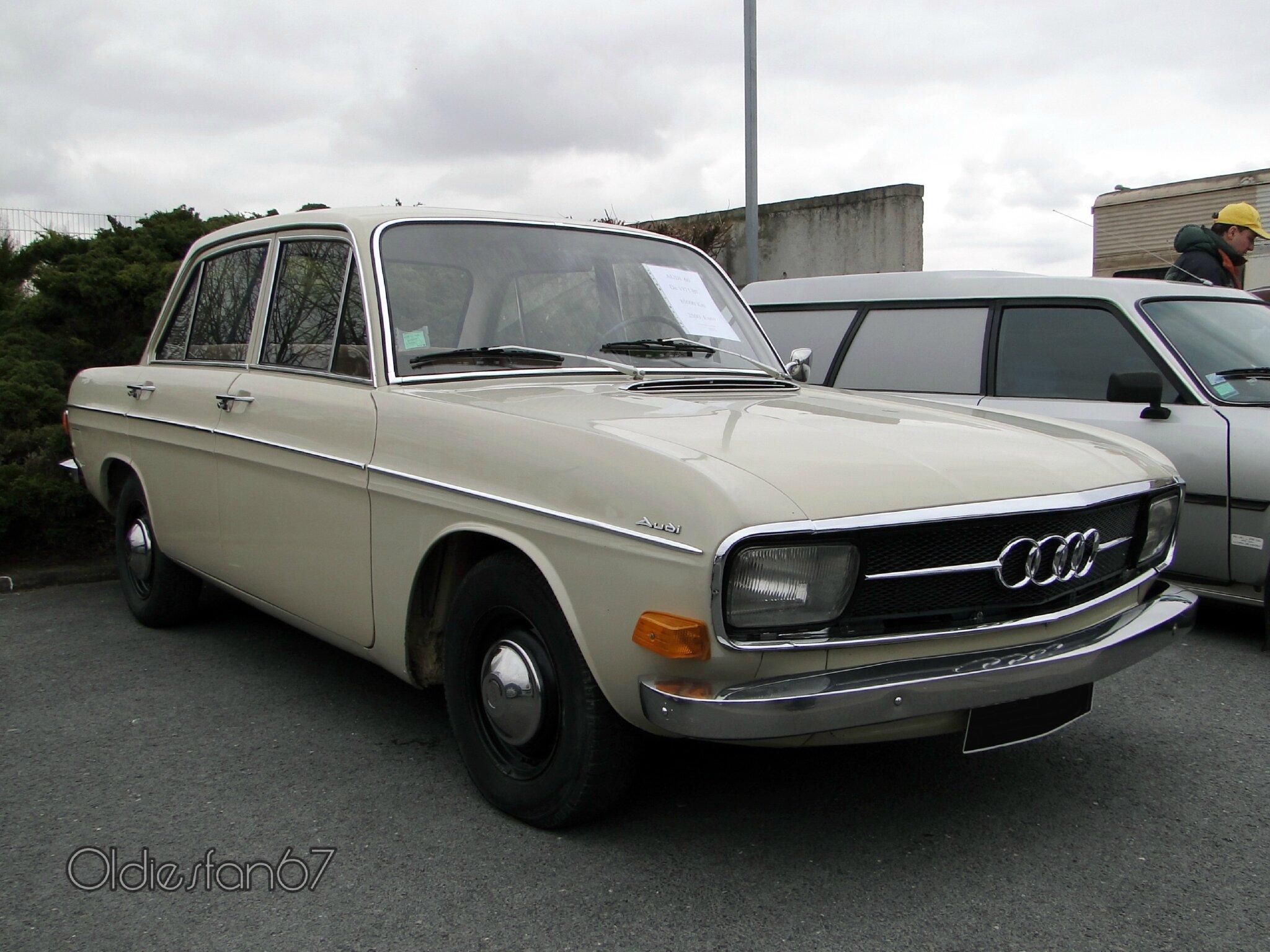 """Audi 60 4 portes-1971 - Oldiesfan67 """"Mon blog auto"""""""