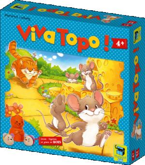 Boutique jeux de société - Pontivy - morbihan - ludis factory - Viva topo