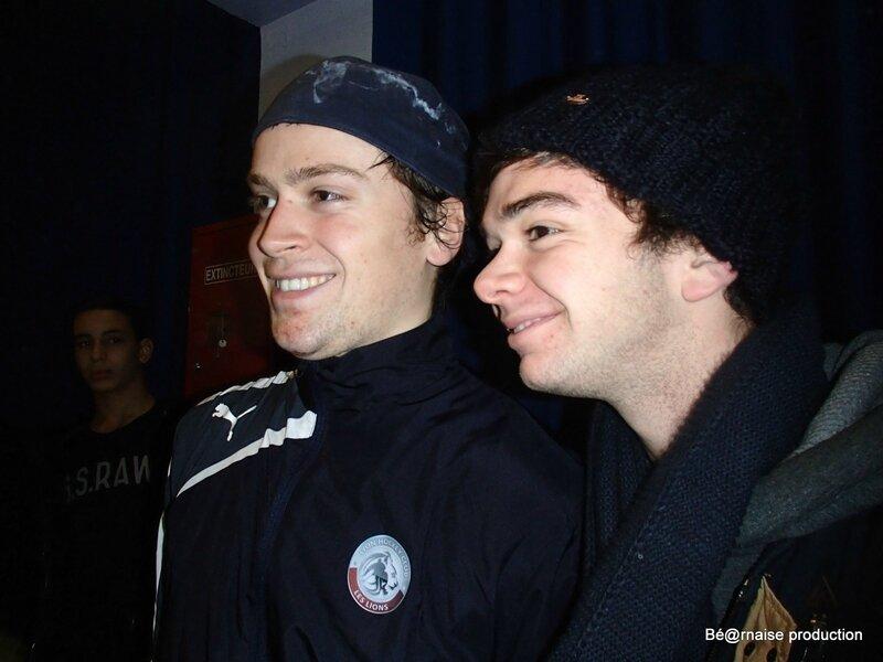 Arnaud et Fabien Magallon, deux frères du LHC