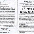 LE PAYS DE NKUA TULENDO 1