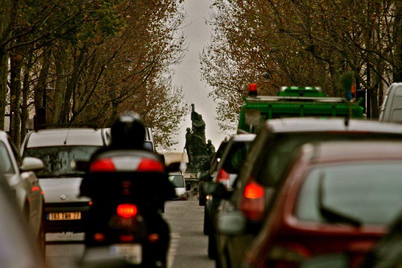 Animation avenue de Clichy.