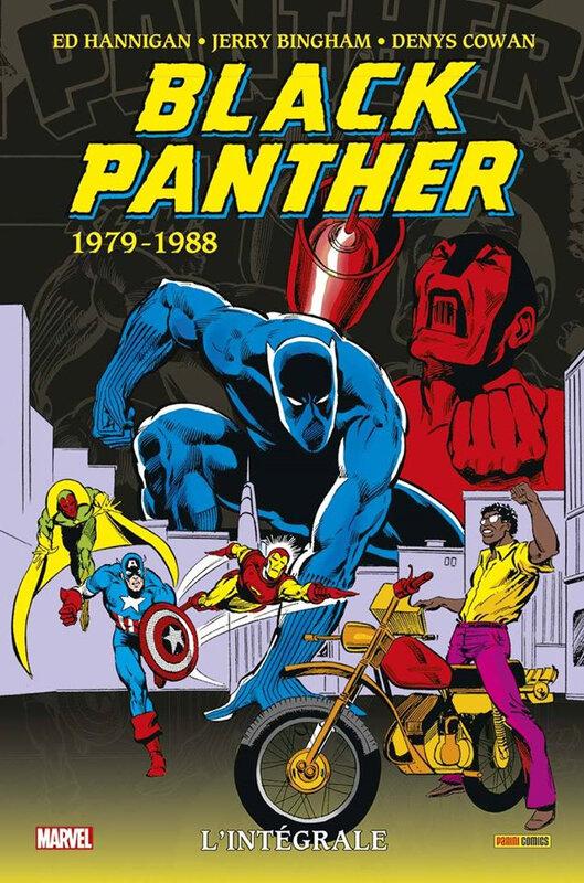 intégrale black panther 1979-88