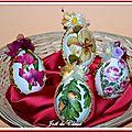 Œufs Pâques décorés Panier 3
