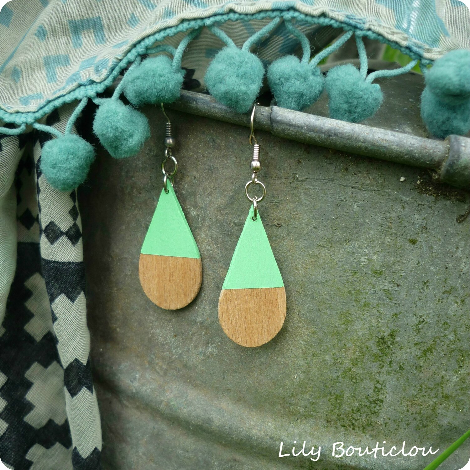 boucles oreille batonnet glace ice stick earings lilybouticlou