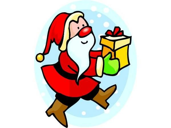 Merci p re no l passion kawaii le blog de magally - Clipart pere noel gratuit ...
