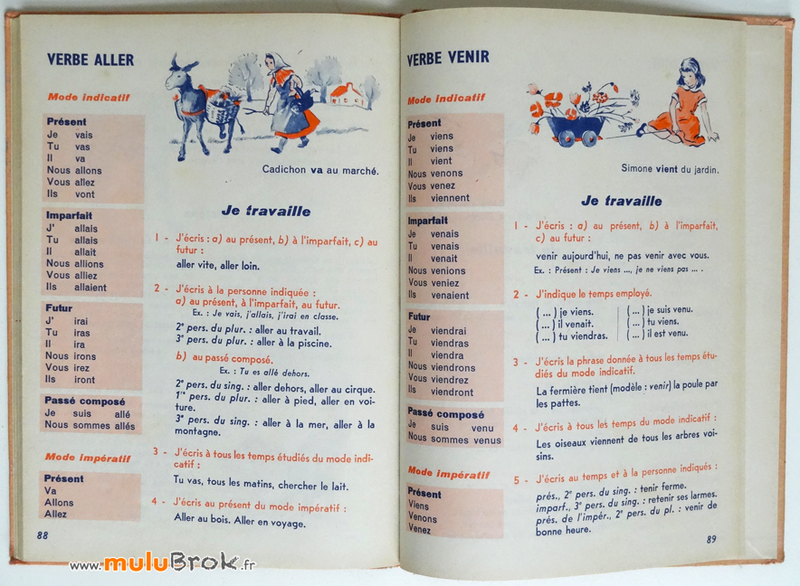 Livre-MA-PREMIERE-GRAMMAIRE-Colin-7-muluBrok-Vintage