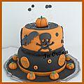 Gâteau d'halloween/halloween cake