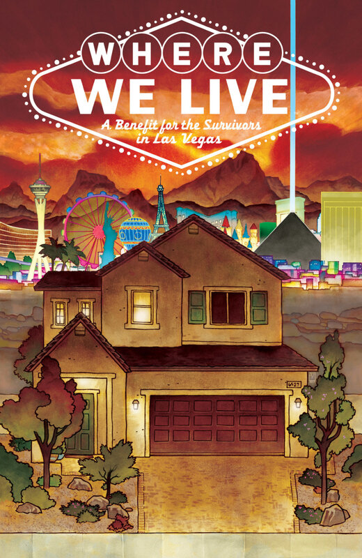 where we live a benefit for the survivors in las vegas TPB