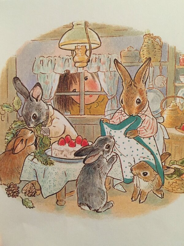 Le frigo des lapins - Trois Petits Noëls, Akiko Hayashi. L'école des loisirs.