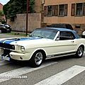 Shelby gt 350 convertible (retrorencard aout 2012)