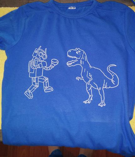 teeshirt RoboVSDino - copie