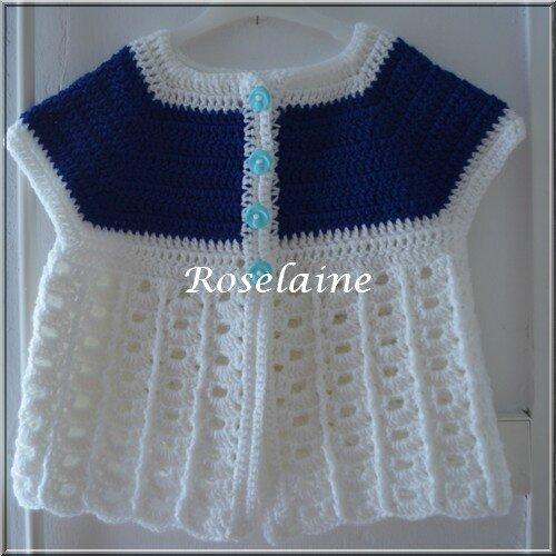 Roselaine 49 Brassière crochet