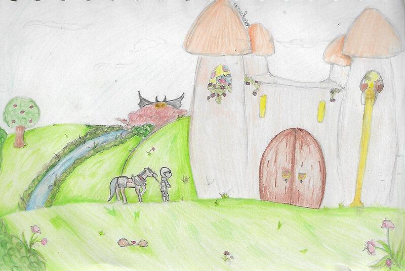 dessin aly chateau