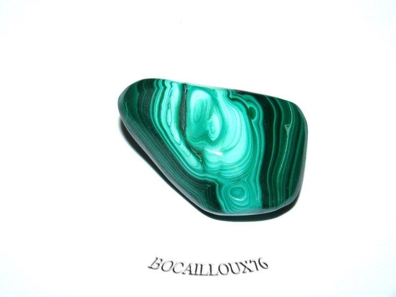 MALACHITE 12 Roulée - Pour CREATION - LITHOTHERAPIE