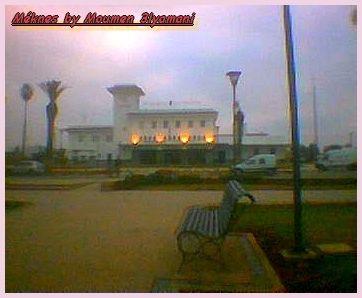 Gare de Méknes Ville