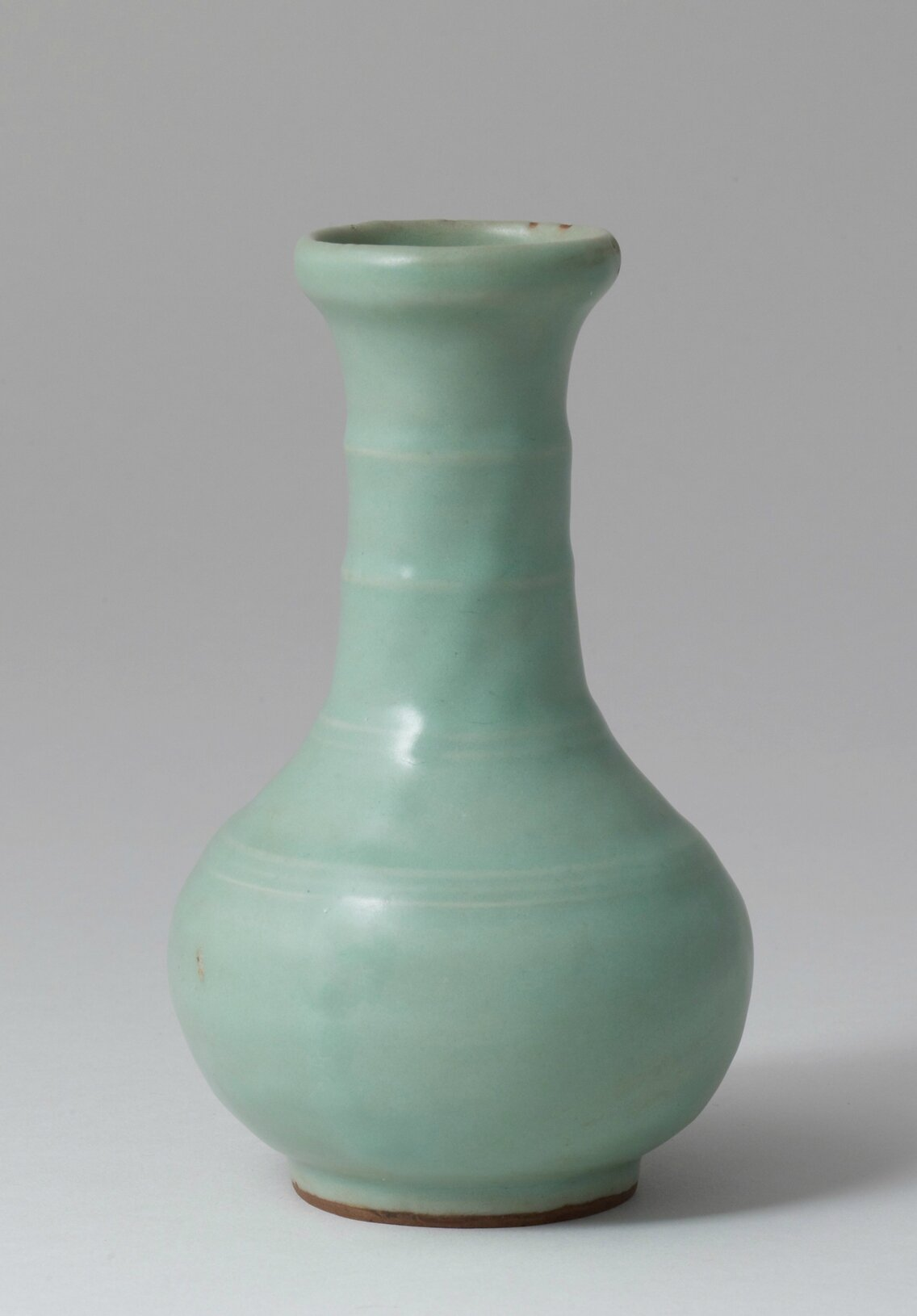 Longquan Celadon Vase with Bamboo Neck, Southern Song Dynasty