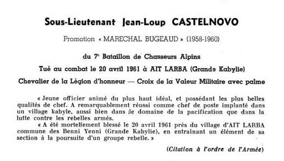 Castelnovo fiche Saint-Cyr