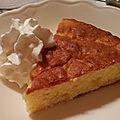 Gâteau de pommes au miel