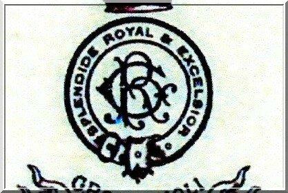 armoirie Gaudens Rossignoli 1907