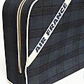 Vintage ... valise air france * ecossaise