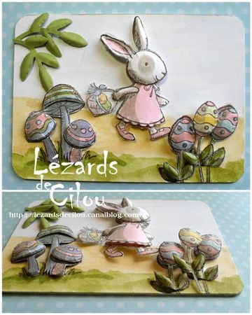 ATC FEVRIER 2012 Happy Easter BLOG