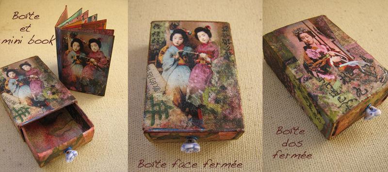 Mini livre Boîte d'allumette Asia1