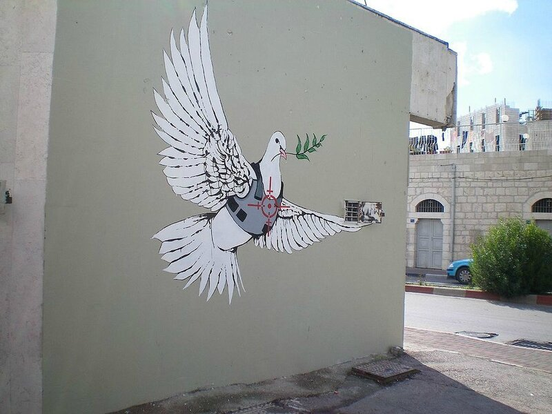 1024px-Banksy_-_Armoured_Peace_Dove