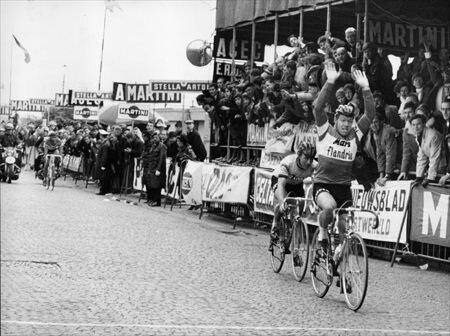 Eric Leman 1er du tour des flandres 1970