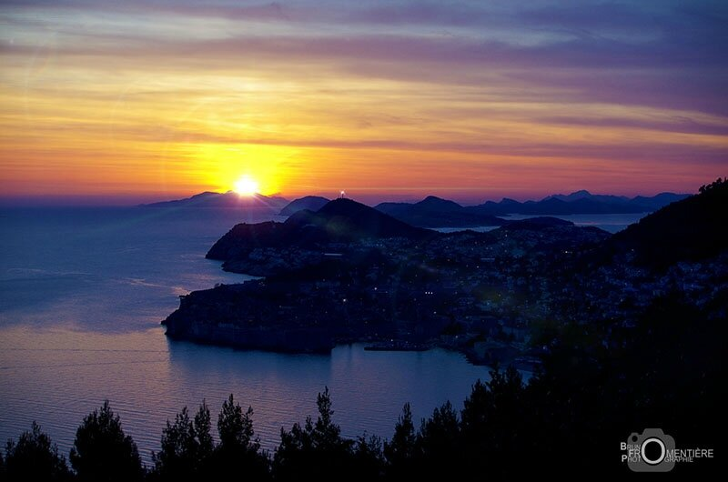 Sunset on Dubrovnik 800