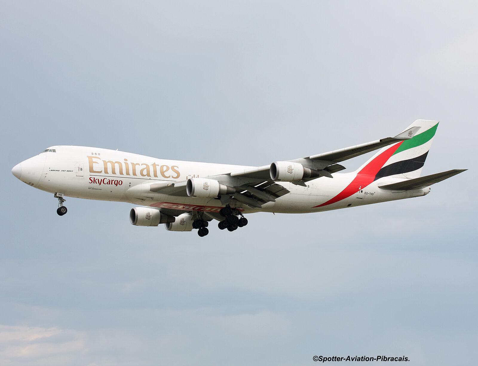 Emirates SkyCargo (TNT)