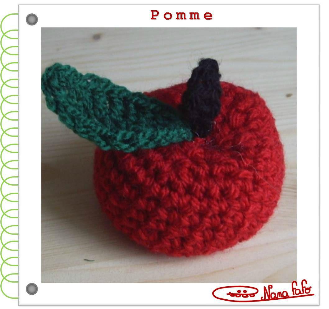 Pomme crochet tuto