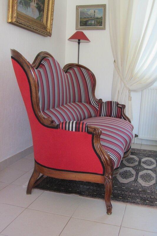 tissu Nobilis côté sièges tapissier en Bretagne