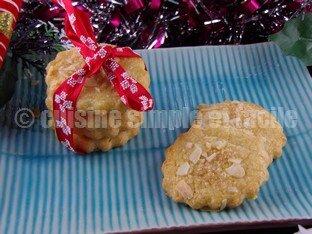 gâteaux de Noël aux amandes 04