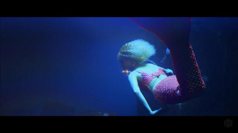 Claire la sirène dans Cocktail de Corine - 2017