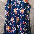 *blouse femme à fleurs