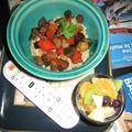 Salade tiède de quinoa et salade de fruit d'hiver ou les sirènes du canapé