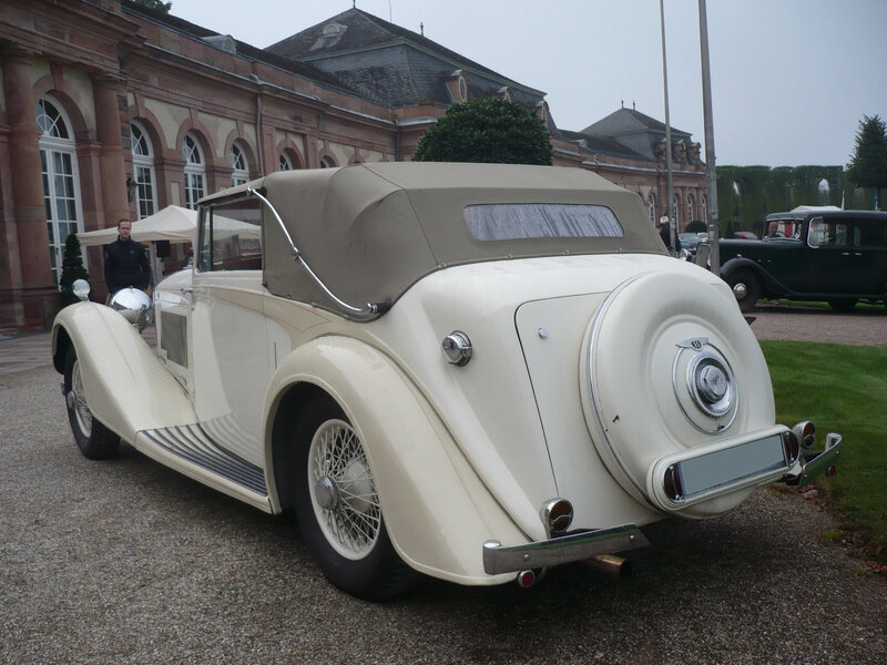 BENTLEY 4 1-4 Litre drophead coupé 1937 Schwetzingen (2)